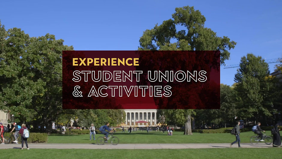 Student Unions & Activities
