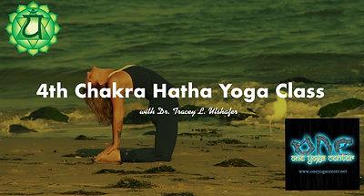 4th Chakra Hatha Yoga Class