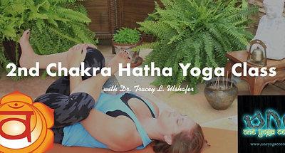 2nd Chakra Hatha Yoga Class