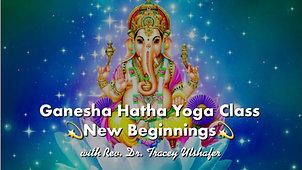 Ganesha Hatha Yoga for New Beginnings