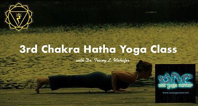 3rd Chakra Hatha Yoga Class