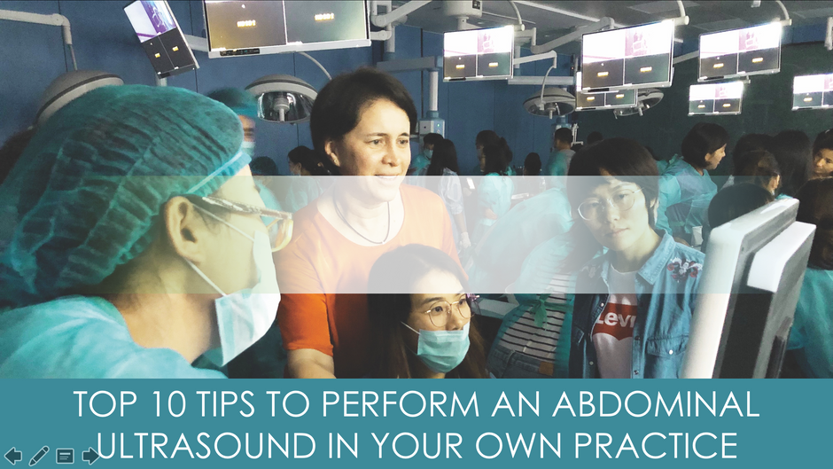 10 tips to perform an abdominal ultrasound