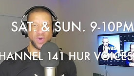 48 Hours to Go-Go!!! ... Tune In!!!SiriusXM Channel 141 H U R Voices.9-10pm