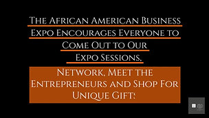 AFRICAN AMERICA BUSINESS EXPO WITHOUT VOICE