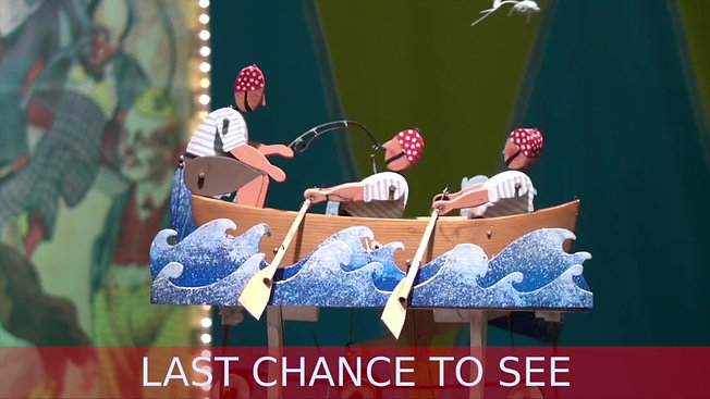 Last chance to see Mechanical Circus