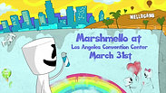 Marshmello at the LA Convention Center