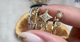 2020 秋冬新款鑽石戒指