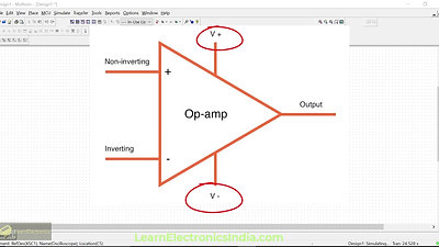 What is an Op-Amp? Op-amp as voltage comparator