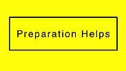 Preparation Help