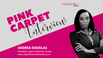 Pink Carpet Interview: Andrea Douglas