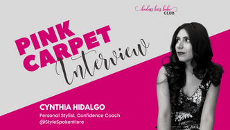 Pink Carpet Interview: Cynthia Hidalgo