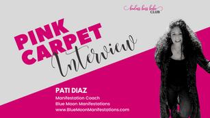 Pink Carpet Interview: Pati Diaz