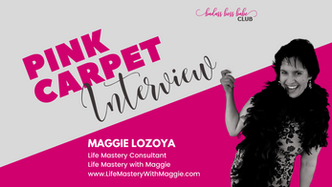Pink Carpet Interview: Maggie Lozoya