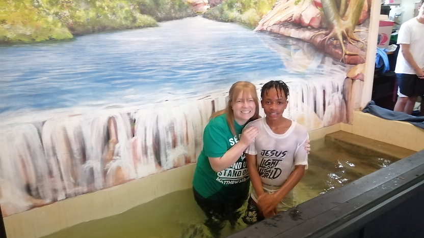Kgosana Baptism
