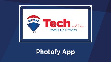 Tech with Traci | Photofy App