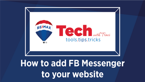 Tech with Traci | Add FB Messenger to your Website
