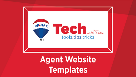 Tech with Traci | Agent Website  Templates