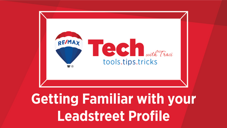 Tech With Traci | Getting Familiar with your LeadStreet Profile