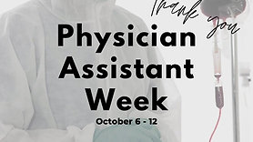 Physician Assistant Week