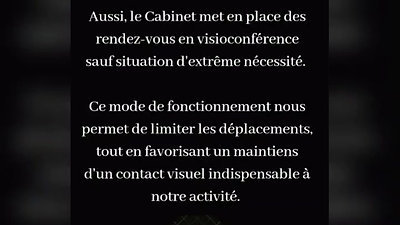 CABINET BHS - INFORMATIONS COVID