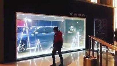 Активная витрина благодаря Smart пленке