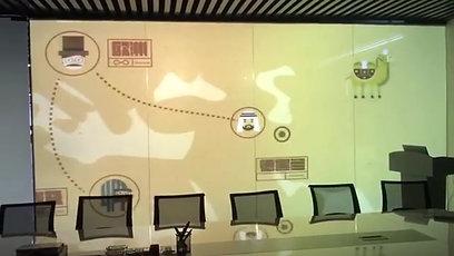 Smart пленка в роли экрана для презентаций