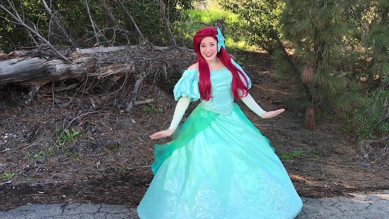 Ariel Look-a-like Princess Party Character