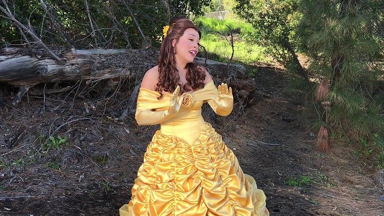 Princess Belle Singing