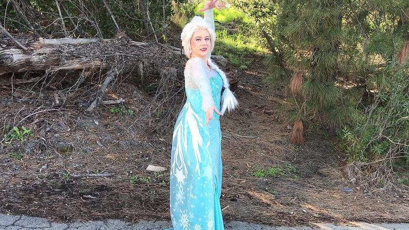 Elsa Frozen Look-a-like Princess