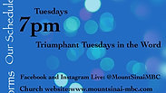 Triumph Tuesdays in the Word March 31, 2020