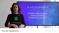 Founder Agreements: Share vesting & Protecting IP