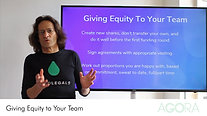 Giving Equity to Your Team