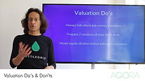 Valuation do's & don'ts