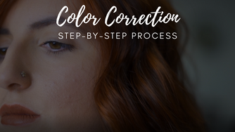 STEP-BY-STEP COLOR CORRECTION