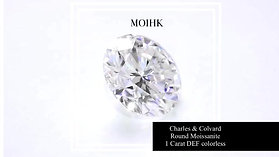 US Charles and Colvard Moissanite