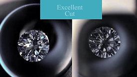 US Moissanite VS GIA E Color Diamond