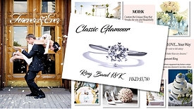 MOIHK Classic Glamour Engagement Ring