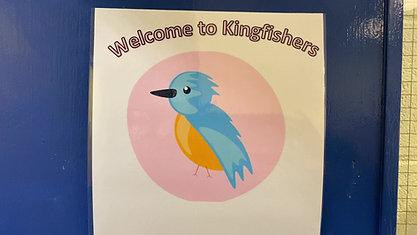 Step inside the Ladybirds Kingfishers & Fun Focus room