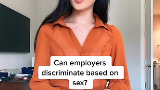 Can Employers Discriminate Based on Sex?