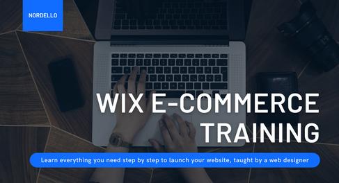 Wix Ecommerce Tutorial