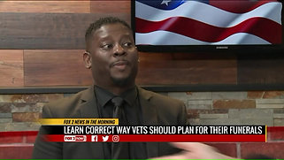 Earl Childress offers Veterans seminars to help with changes in burial benefits