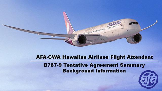 Honolulu 787-9 Roadshow Meeting