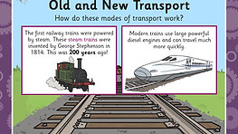 #Lesson Presentation How Has Transport Changed