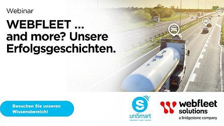 Webfleet... and more - uniSmart Erfolgsgeschichten