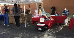 Le marché de Mesilla en musique