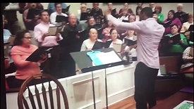 Conducting at McEachern United Methodist Church