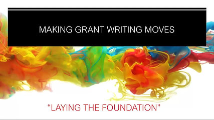 MAKING GRANT WRITING MOVES