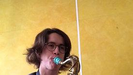 Garrett Frees Tenor Sax Demo