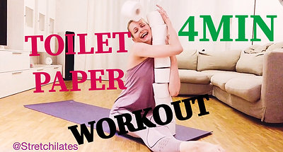 TOILET PAPER WORKOUT