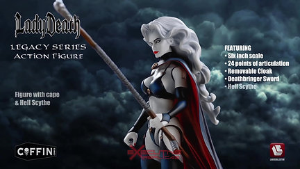 Lady Death: Action Figure Release Video